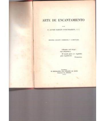 EL ARTE DEL ENCANTAMIENTO/F. J.BARCONFURUNDARENA/MAGIC/121