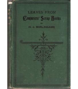 CONJURES`SCRAP BOOKS /H.J. BURLINGAME/MAGICANTIC/5089