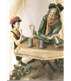 POSTAL MAGO CON CUBILETES/MAGICANTIC