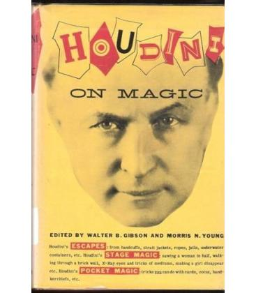 HOUDINI ON MAGIC/W.B.GIBSON AND M.NYOUNG/MAGICANTIC/5093