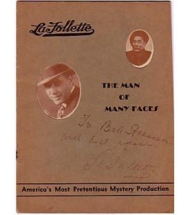 La Follette signed program /5107