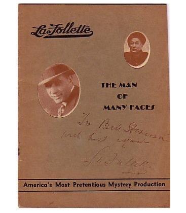 La Follette signed program /MAGICANTIC 5107