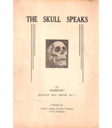 THE SKULL SPEAKS BY MARVELO/MAGICANTIC/5119