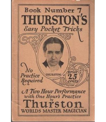 THURSTON , BOOK Nº 7 EASY POCKET TRICKS/MAGICANTIC/512