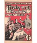 TRICKS WITH CARDS /PERCY BISHOP/MAGICANTIC/5129