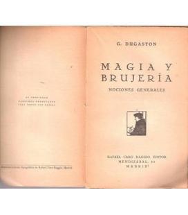 MAGIA Y BRUJERIA/D. DUGASTON/MAGICANTIC/153