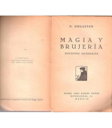 MAGIA Y BRUJERIA/D. DUGASTON/MAGICANTIC/153