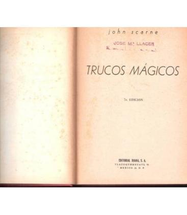 TRUCOS MAGICOS/ 5º EDICION/MAGICANTIC/94 BIS