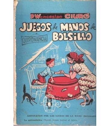 JUEGOS DE MANOS DE BOLSILLO QUIROMANCIA/W.CIURO /MAGIC 172