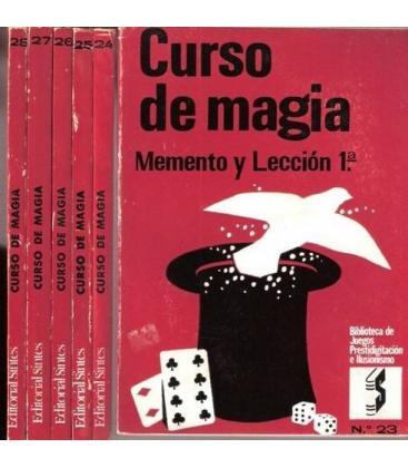 CURSO DE MAGIA R. VENO 6 EJEM. LECC, 1 A 12/MAGICANTIC/203