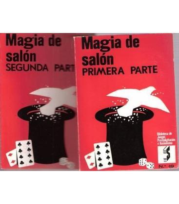 MAGIA DE SALON, Pª Y 2ª PARTE 2 VOL. /MAGICANTIC/2004