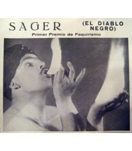 CARTEL SAGERS EL DIABLO NEGRO/MAGICANTIC