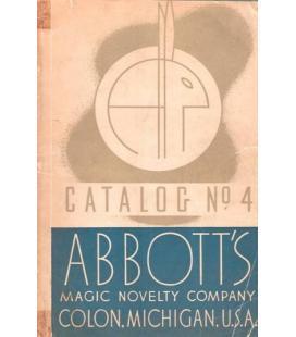 CATALOG Nº 4 ABBOTS /1937