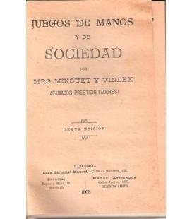 JUEGOS DE MANOS Y DE SOCIEDAD/MAGICANTIC229