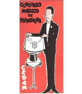 PROGRAMA CONCURSO MAGICO DE PRIMAVERA CEDAM/MAGICANTIC/K34