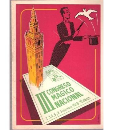 PROGRAMA III CONGRESO MAGICO NACIONAL SEVILLA/MAGICANTIC/K 38