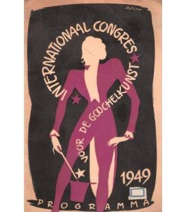 PROGRAMA INTERNACIONAAL CONGRESS AMSTEDAM 1949/MAGICANTIC K 39