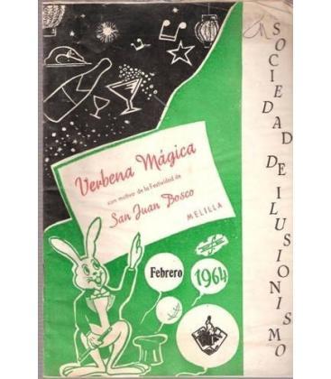 PROGRAMA VERBENA MAGICA MELILLA 1964/MAGICANTIC/K 46