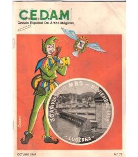 REVISTA CEDAM Nº 73 DE OCTUBRE 1969/MAGICANTIC/K 28