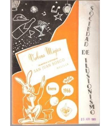 PROGRAMA VERBENA MAGICA MELILLA 1966/MAGICANTICK-48