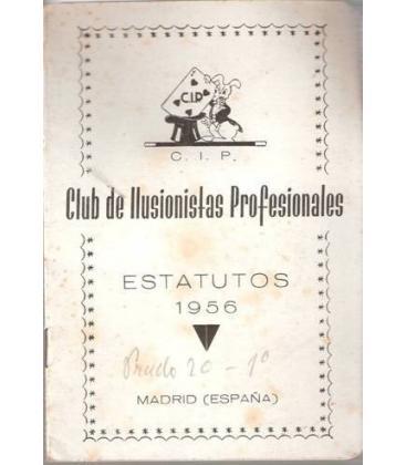 ESTATUTOS CIP, MADRID 1956/MAGICANTIC/K 5