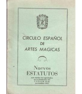 ESTATUTOS CIRCULO ESPAÑOL DE ARTES MAGICAS/MAGICANTIC K-6