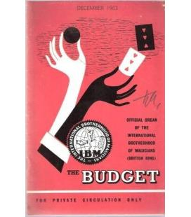 THE BUDGET I.B.M. DECEMBER 1963/MAGICANTIC K 11