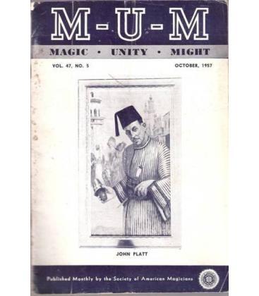 M-U-M VOL., 47 Nº 5 /MAGICANTIC K 18