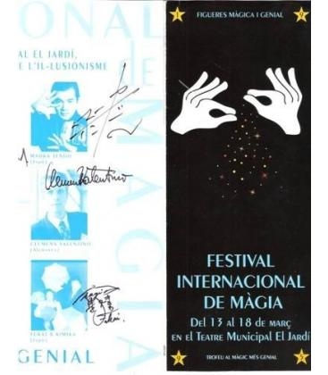 PROGRAMA FESTIVAL INTERNACIONAL MAGIA FIGUERES/MAGIC K 75
