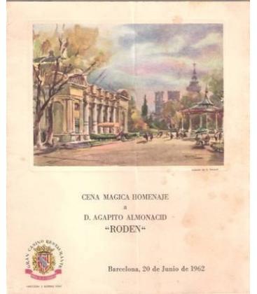PROGRAMA CENA MAGICA HOMENAJE RODEN/MAGICANTIC K 83