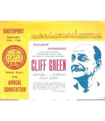 PROGRAMA I.B.M. CLIFF GREEN /MAGICANTIC K-88