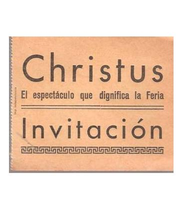 INVITACION CHRISTUS /MAGICANTIC/K 95