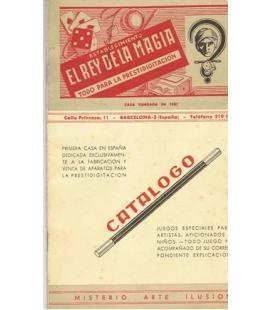 CATALOGO REY DE LA MAGIA/PORTADA ROJO/MAGICANTIC/3006/1