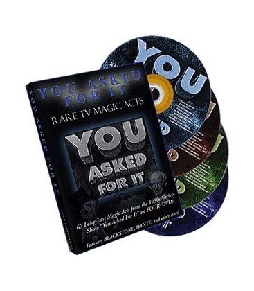 DVD YOU ASKED FOR IT/4 DVD