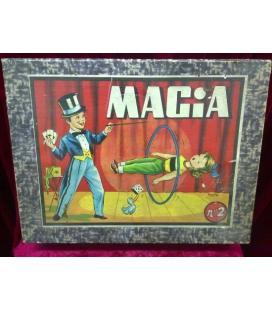 CAJA DE MAGIA BORRAS Nº 2 VACIA/MAGICANTIC/C7BIS