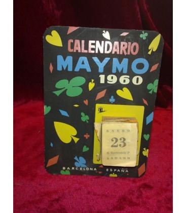 CALENDARIO MAYMO 1960/MAGICANTIC