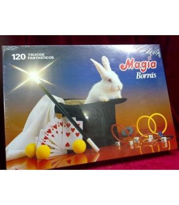 CAJA DE MAGIA BORRAS 120 TRUCOS/MAGICANTIC/C17
