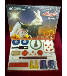 CAJA DE MAGIA BORRAS 40 TRUCOS/MAGICANTIC/C 26