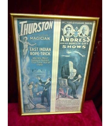 POSTERS THURSTON Y ANDRESS/ENMARCADOS/MAGICANTIC