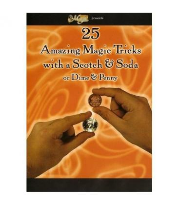 DVD AMAZING MAGIC TRICKS/SCOTCH&SODA