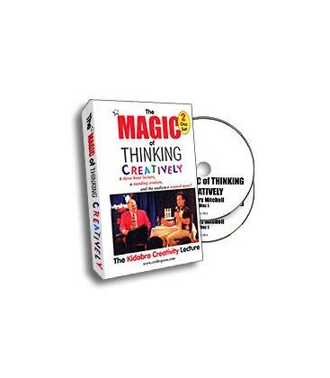 DVD *THE MAGIC OF THINKING CREATIVELY/2DVD