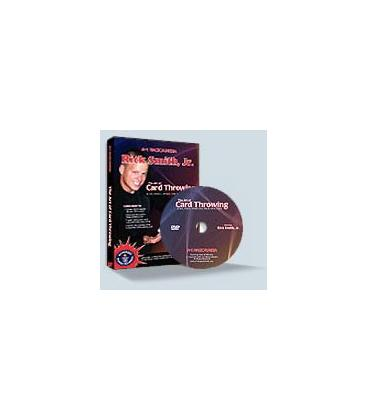 DVD * THE ART OF CARD THROWING/RICK SMITH,JR.
