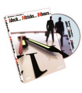 DVD *IDECK /14 TRICKS/24 HOURS /2DVD/PRECIO UNIDAD