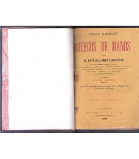 MINGUET 1893/JUEGOS DE MANOS /MAGICANTIC /42C BIS