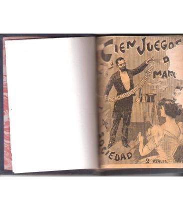 MINGUET Y VINDEX 1900/CIEN JUEGOS DE MANOS /MAGICANTIC /25 C BIS