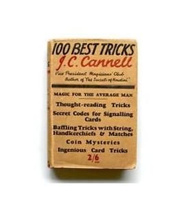 100 BEST TRICKS BY J,C, CANNELL/MAGICANTIC/5251