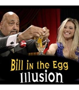 Bill In The Egg Illusion/Billete Aparicion En Un Huevo