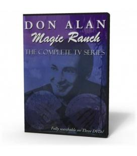 DVD DON ALAN MAGIC RANCH, SET 3 DVD