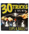 DVD 30 Tricks Cups and Balls DVD in Compact Sleeve with Cups &