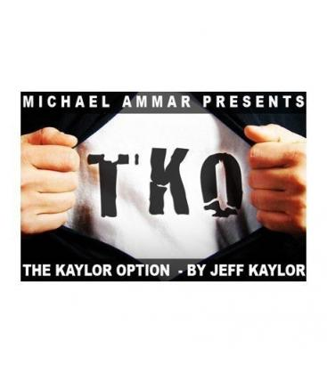 DVD* T K O/THE KAYLOR OPTION /JEFF KAYLOR Y MICHAEL AMMAR/129